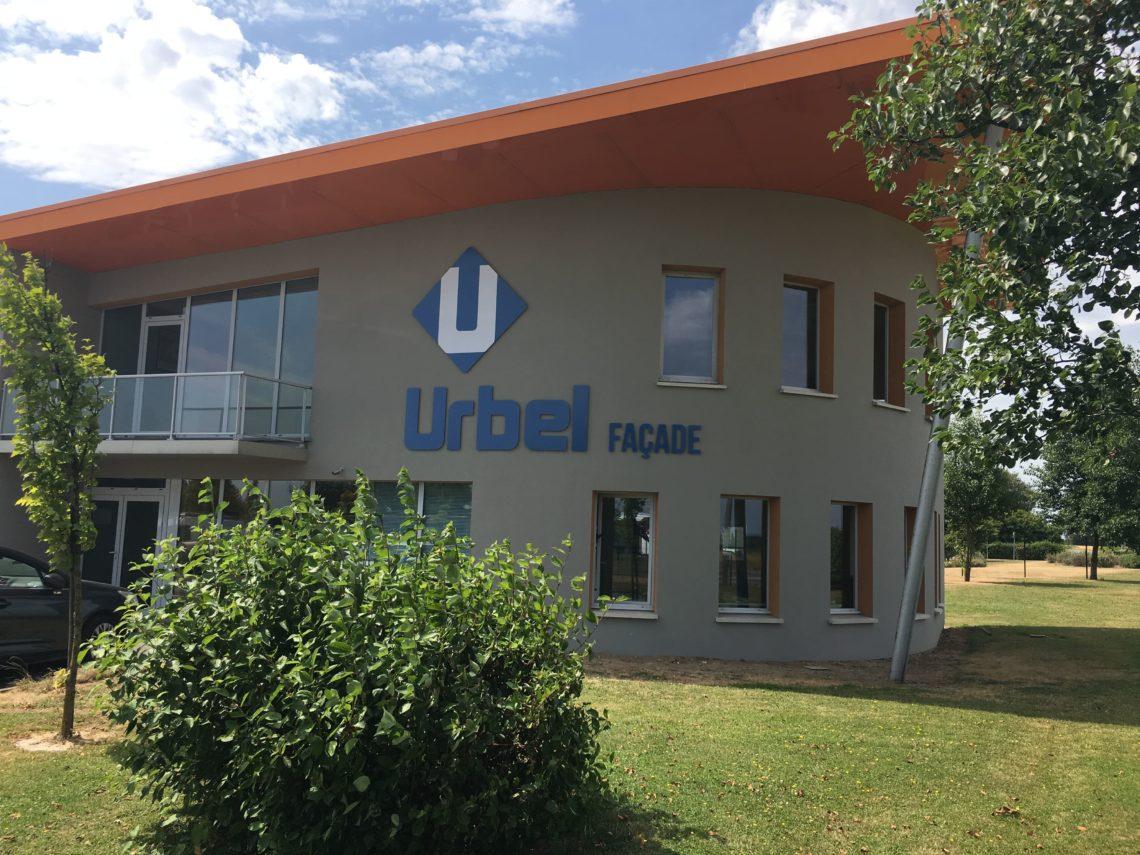 Bureaux d'Urbel Façade sur Lillers