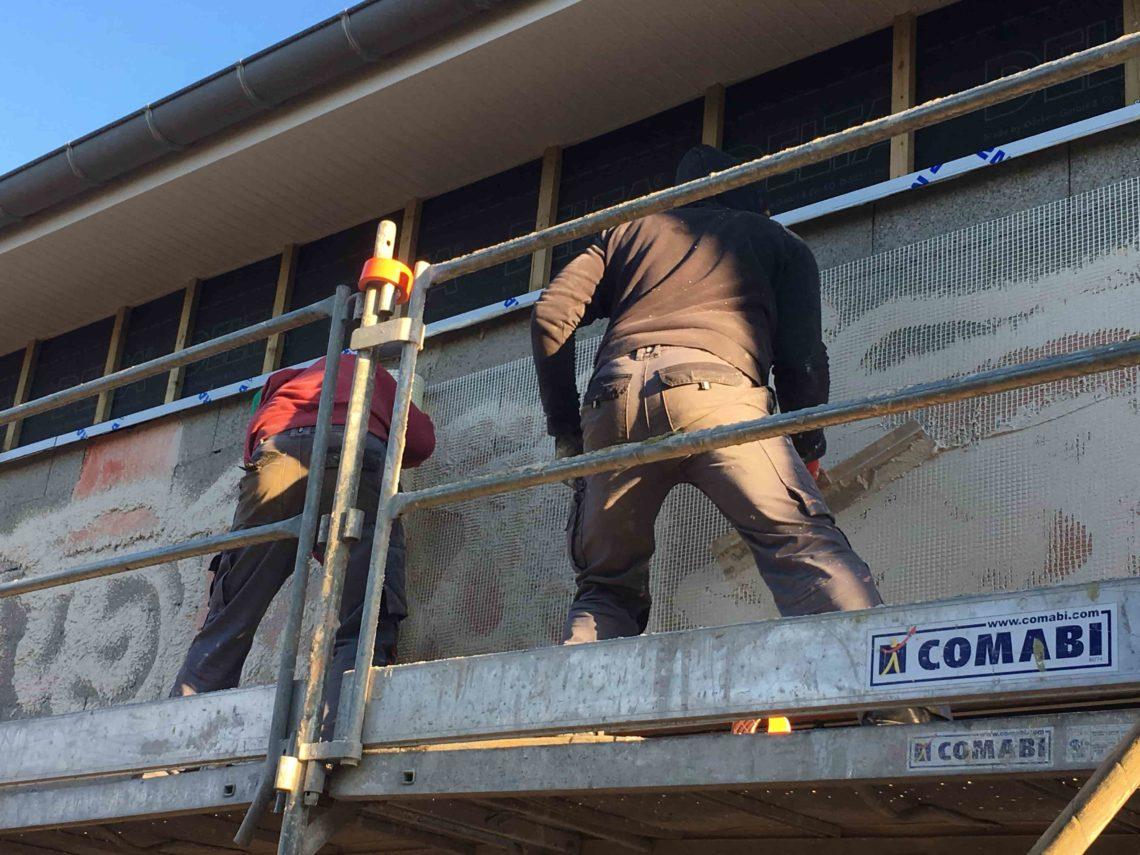 rénovation de façade Urbel