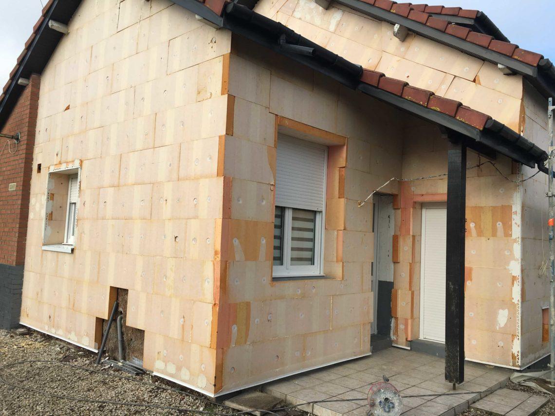 Quelle épaisseur pour une isolation de façade